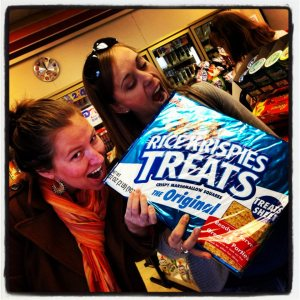 This is my favorite WC2K! adventure photo. If you were unaware that Rice Krispie Treats came in this size, I'm so sorry to be the one to break it to you.